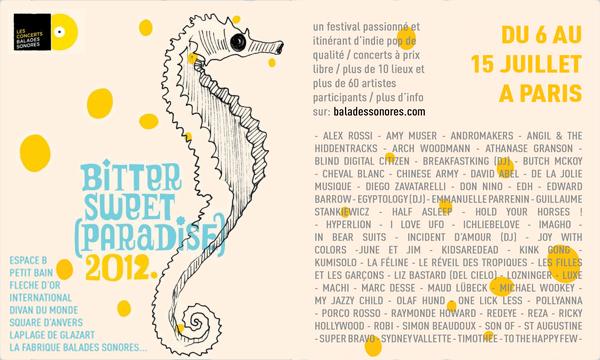 BitterSweet (paradise)2012 - Soutenez un festival équitable !